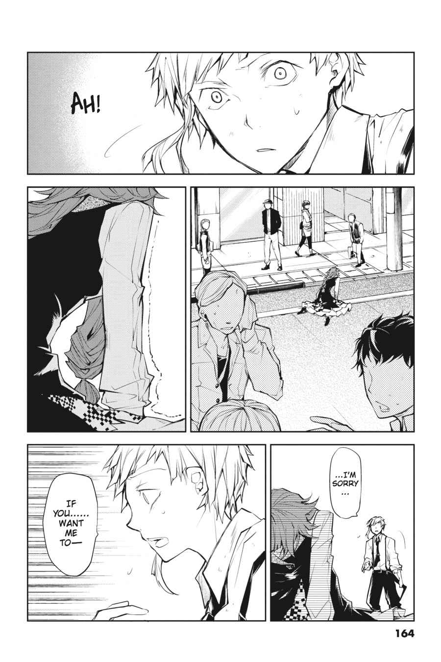 Bungou Stray Dogs Chapter 16 Page 35