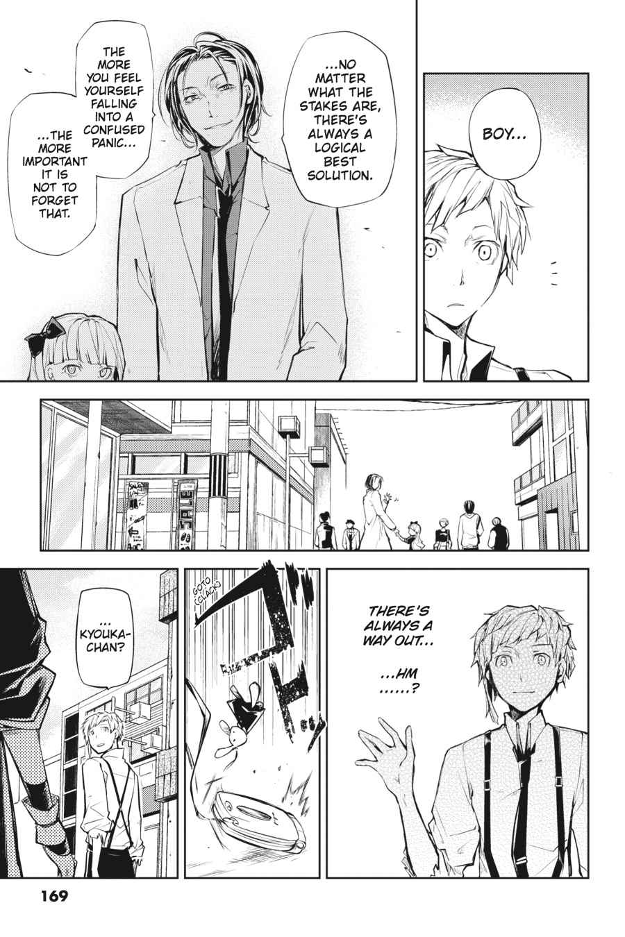 Bungou Stray Dogs Chapter 16 Page 40