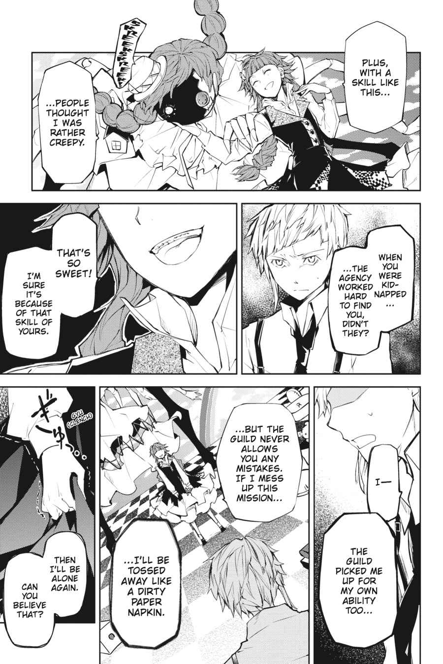 Bungou Stray Dogs Chapter 16 Page 7