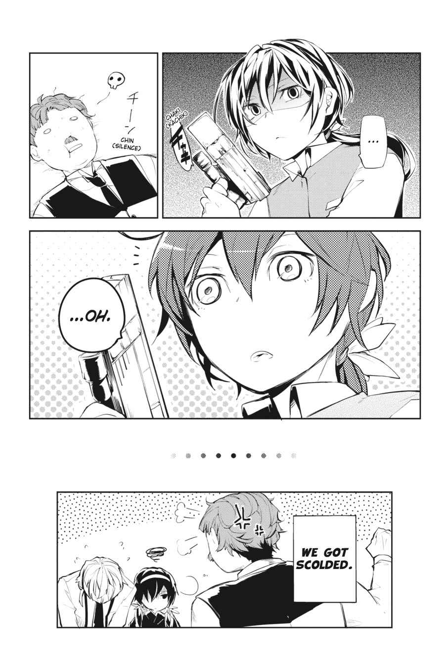 Bungou Stray Dogs Chapter 17 Page 23