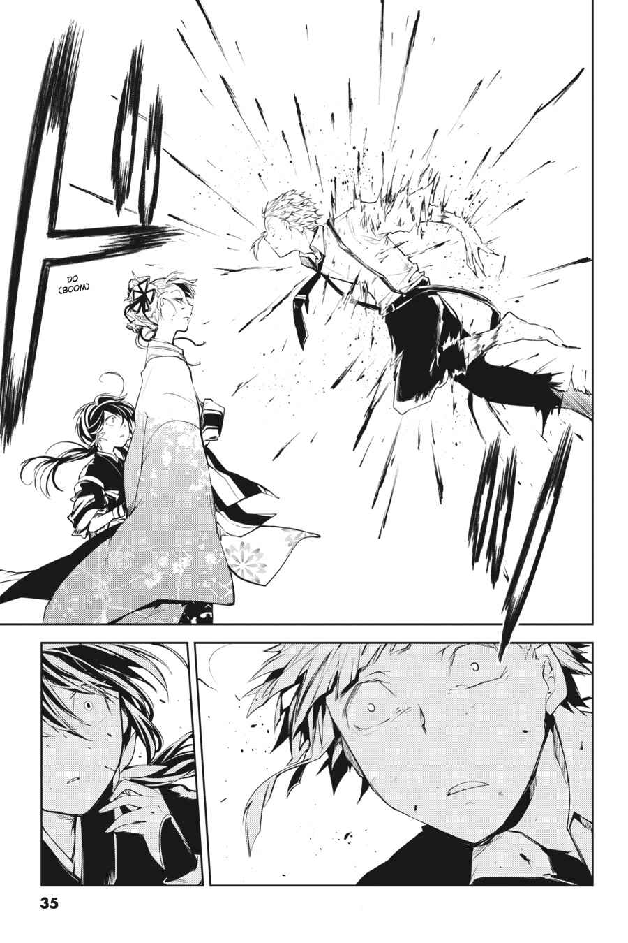 Bungou Stray Dogs Chapter 17 Page 35