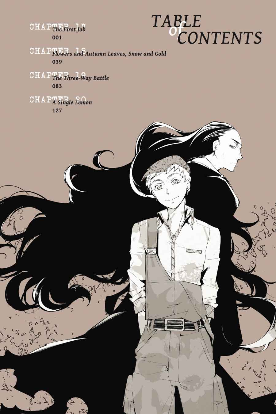 Bungou Stray Dogs Chapter 17 Page 4