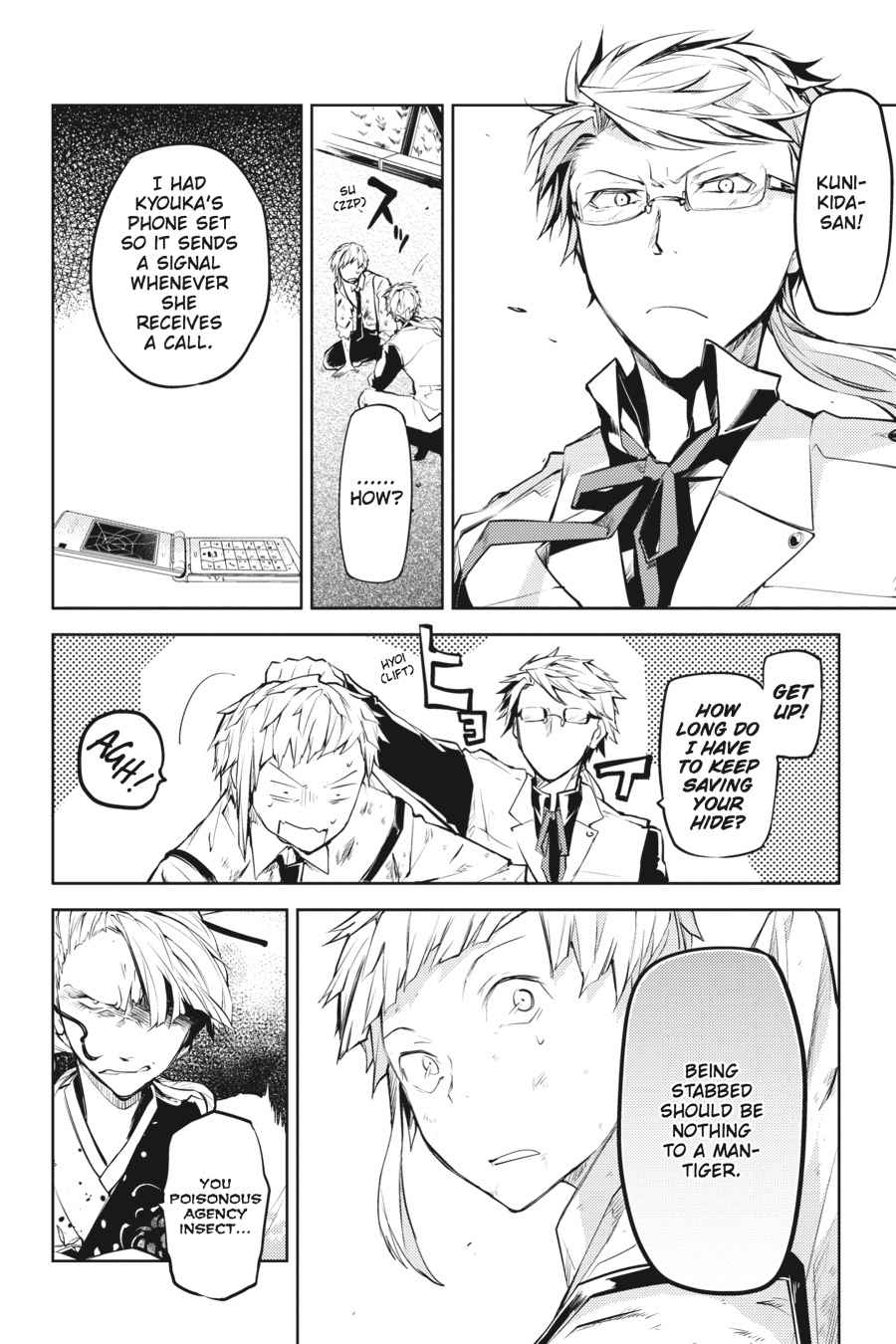 Bungou Stray Dogs Chapter 18 Page 30