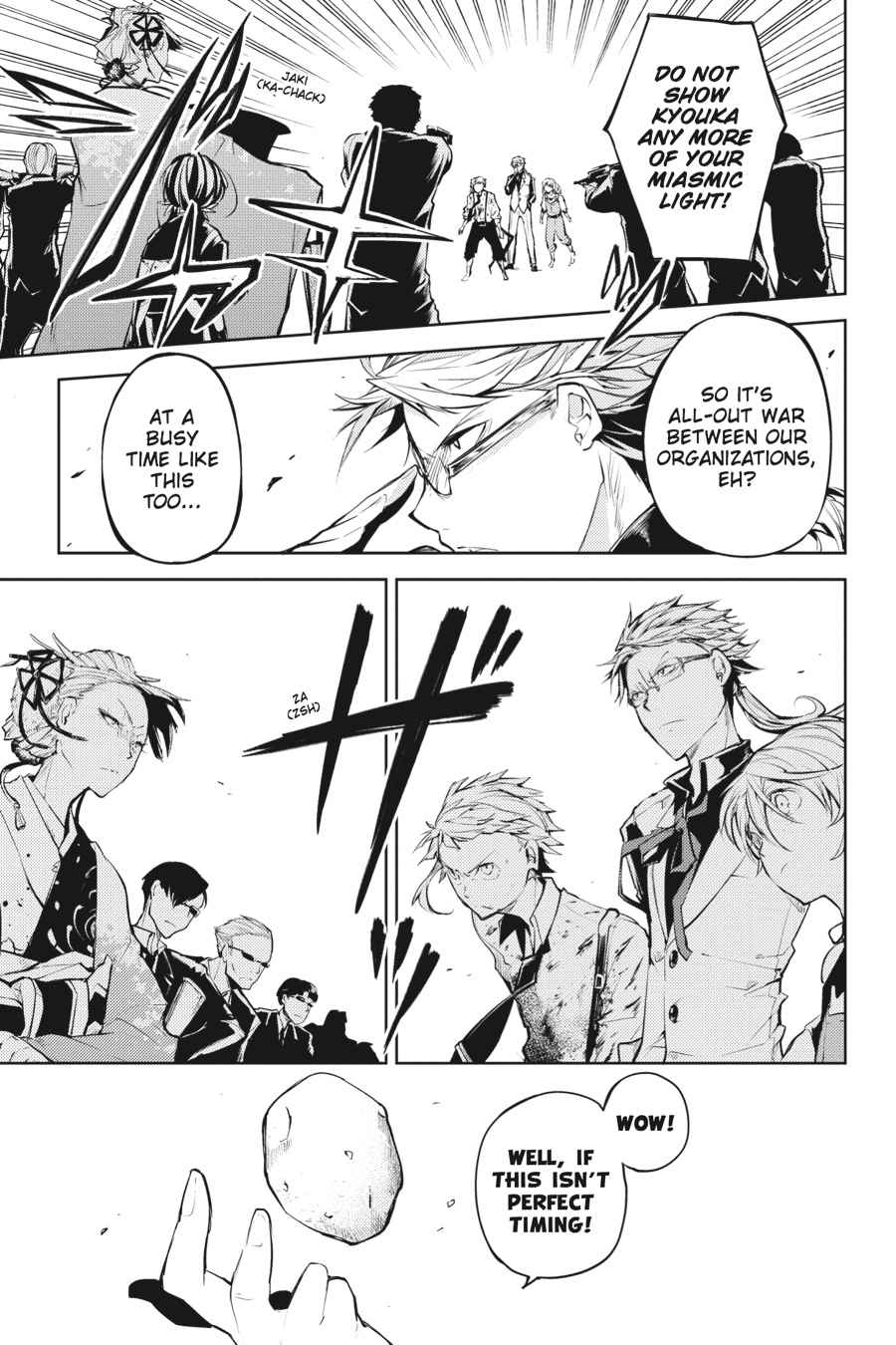 Bungou Stray Dogs Chapter 18 Page 31