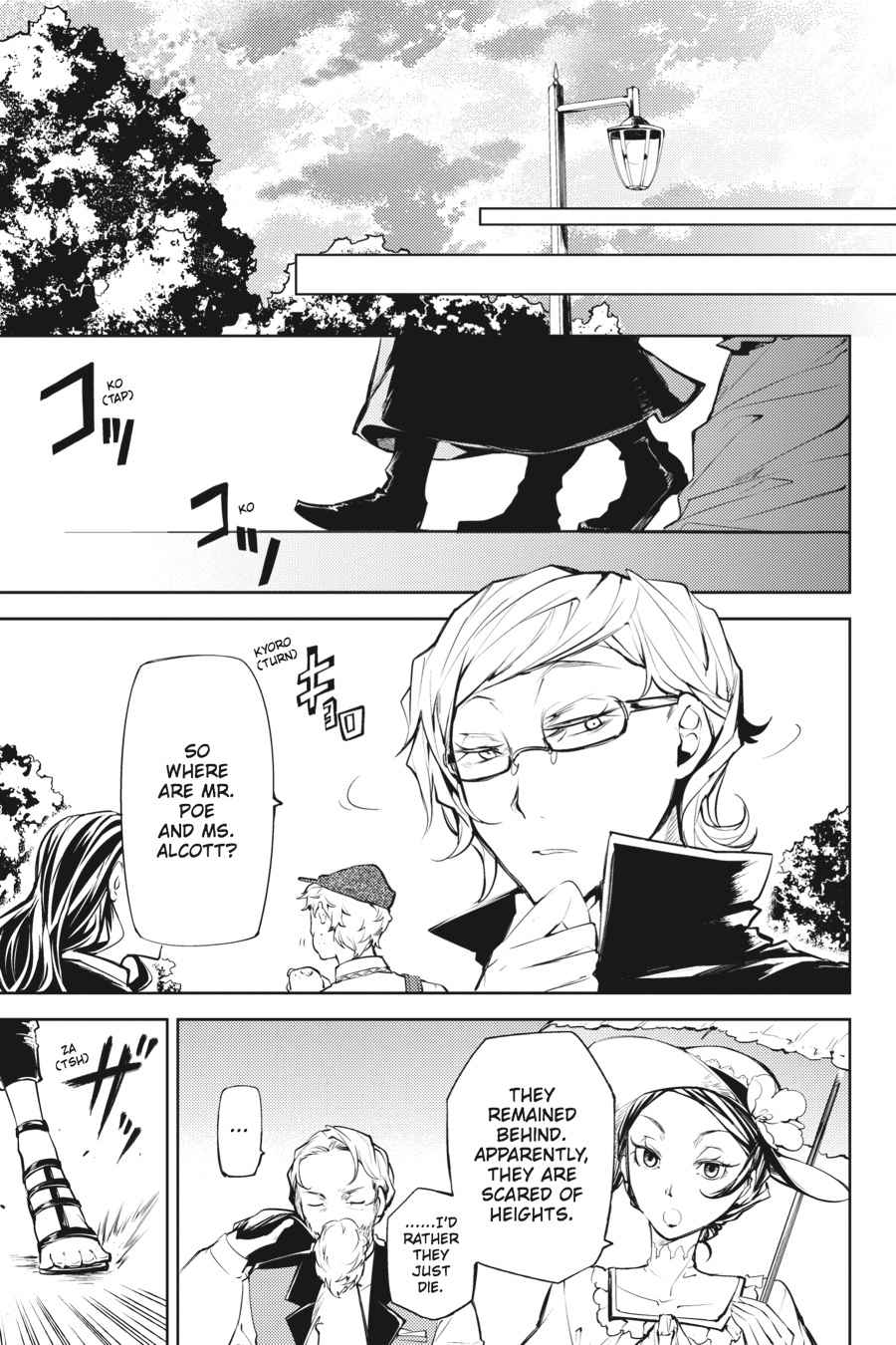 Bungou Stray Dogs Chapter 18 Page 37