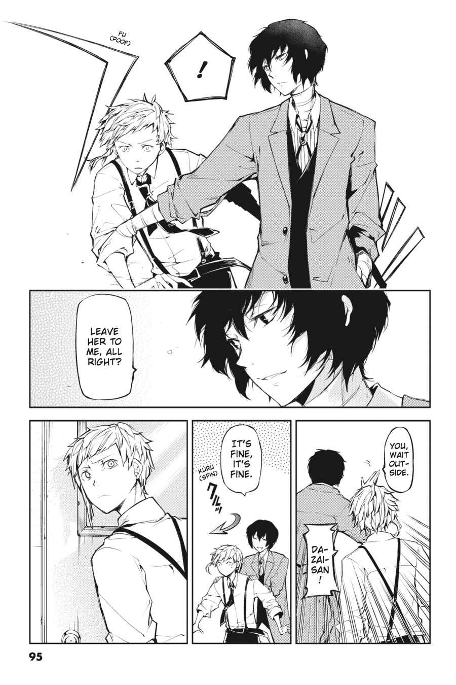 Bungou Stray Dogs Chapter 19 Page 13