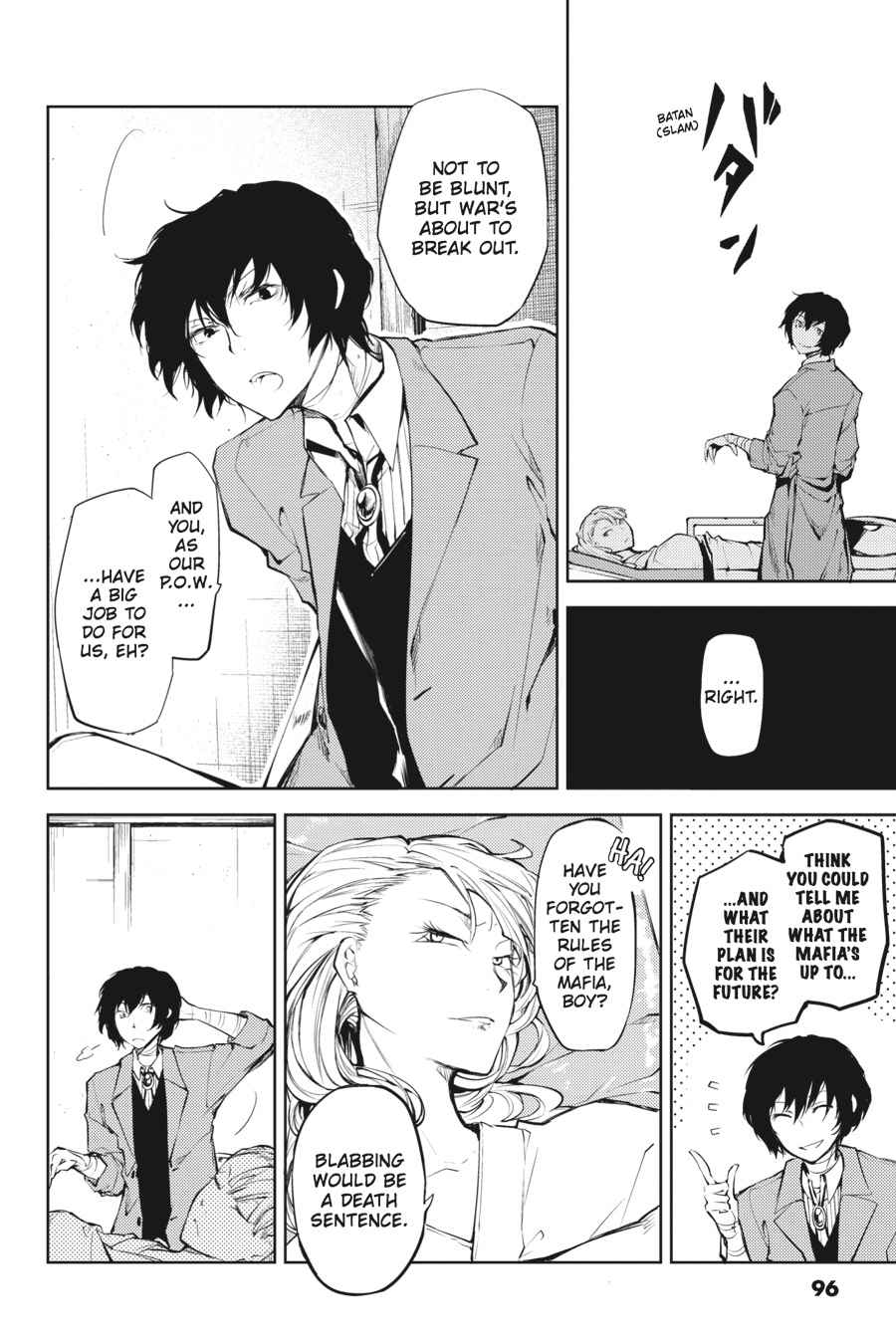 Bungou Stray Dogs Chapter 19 Page 14