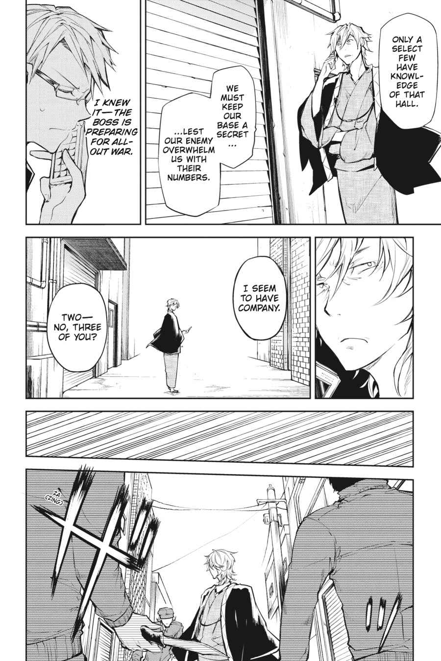 Bungou Stray Dogs Chapter 19 Page 18