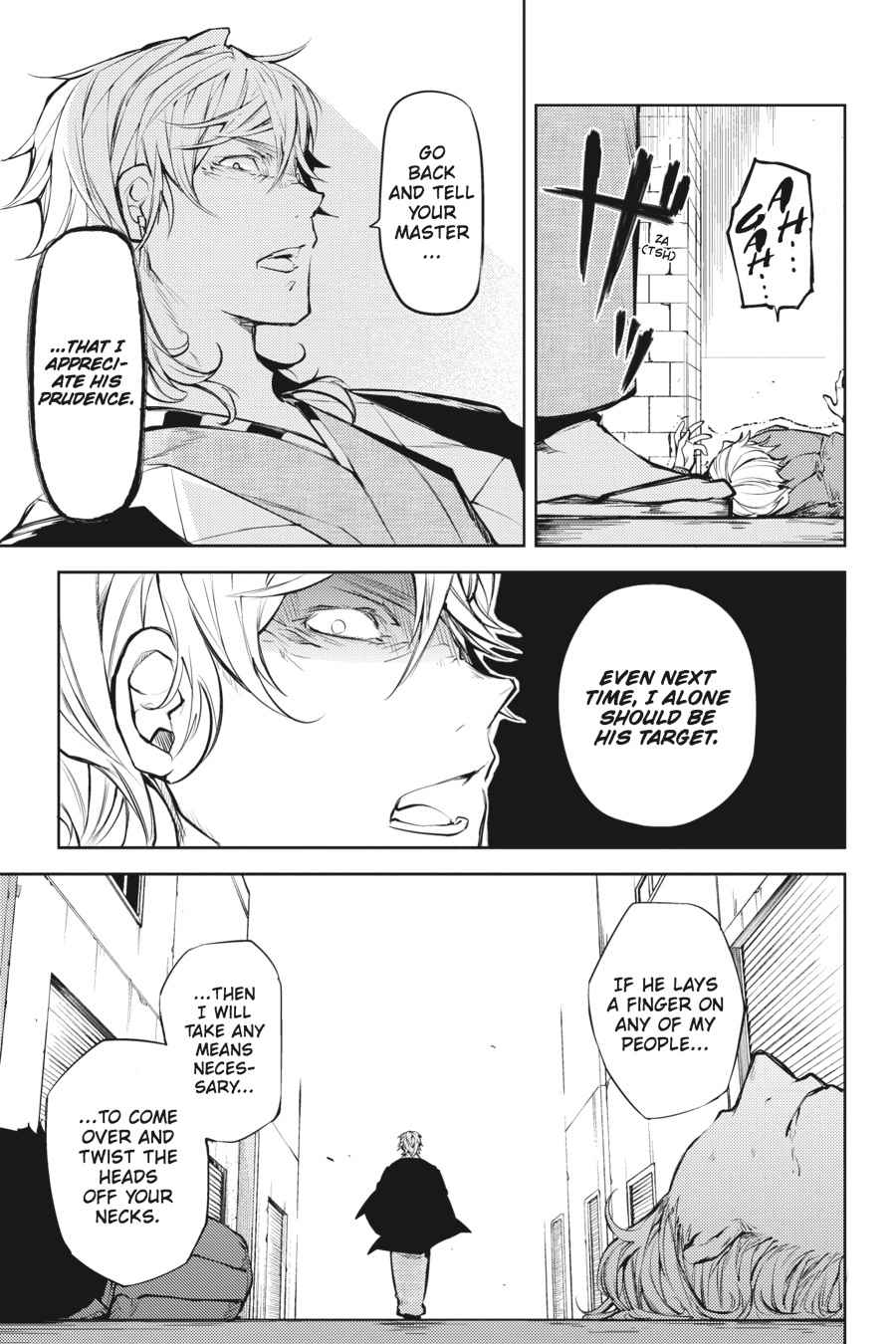 Bungou Stray Dogs Chapter 19 Page 23