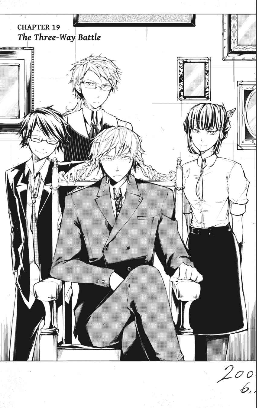 Bungou Stray Dogs Chapter 19 Page 3