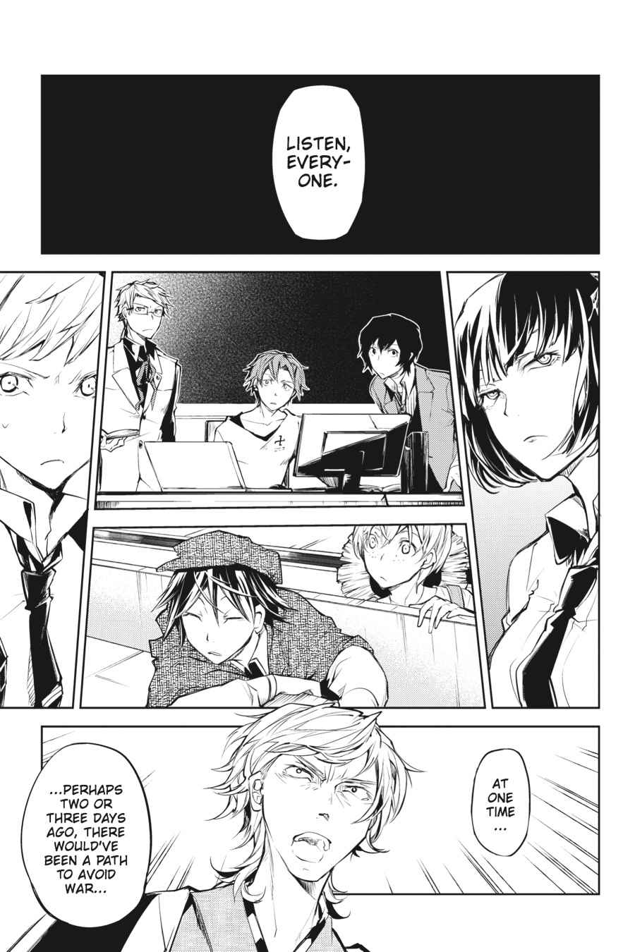 Bungou Stray Dogs Chapter 19 Page 33