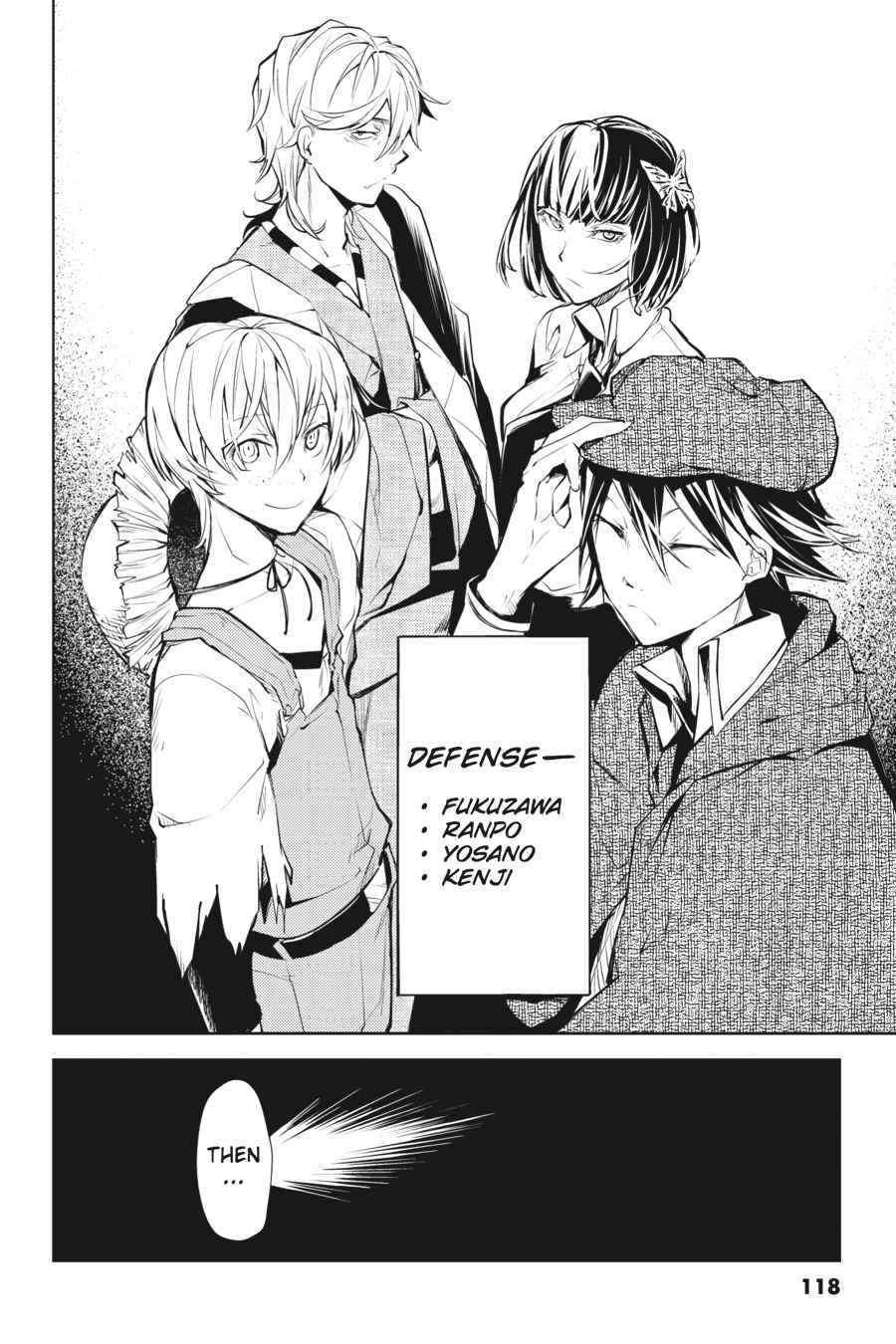 Bungou Stray Dogs Chapter 19 Page 36