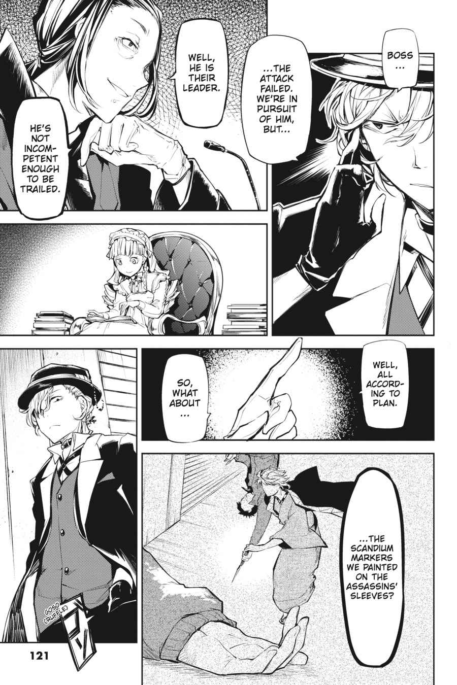 Bungou Stray Dogs Chapter 19 Page 39