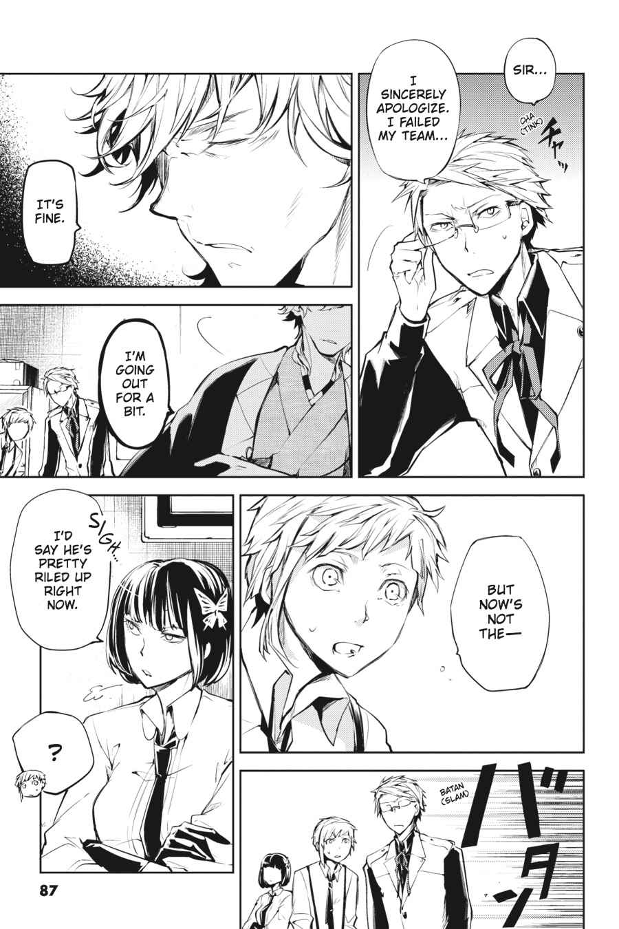 Bungou Stray Dogs Chapter 19 Page 5