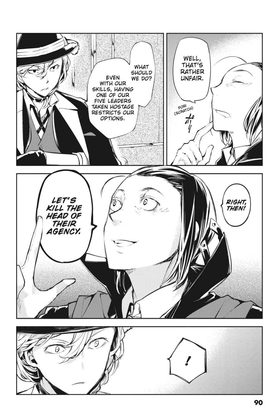 Bungou Stray Dogs Chapter 19 Page 8