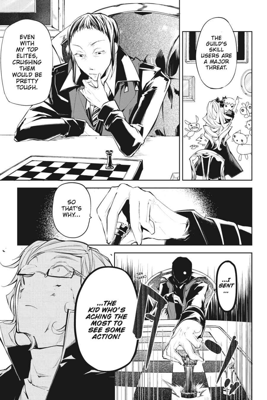Bungou Stray Dogs Chapter 20 Page 37