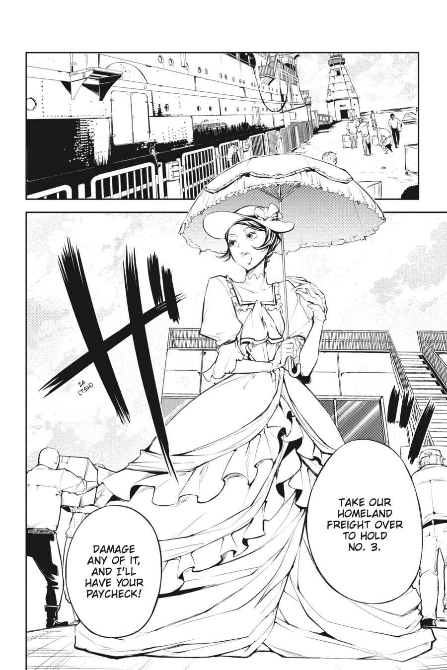 Bungou Stray Dogs Chapter 20 Page 4