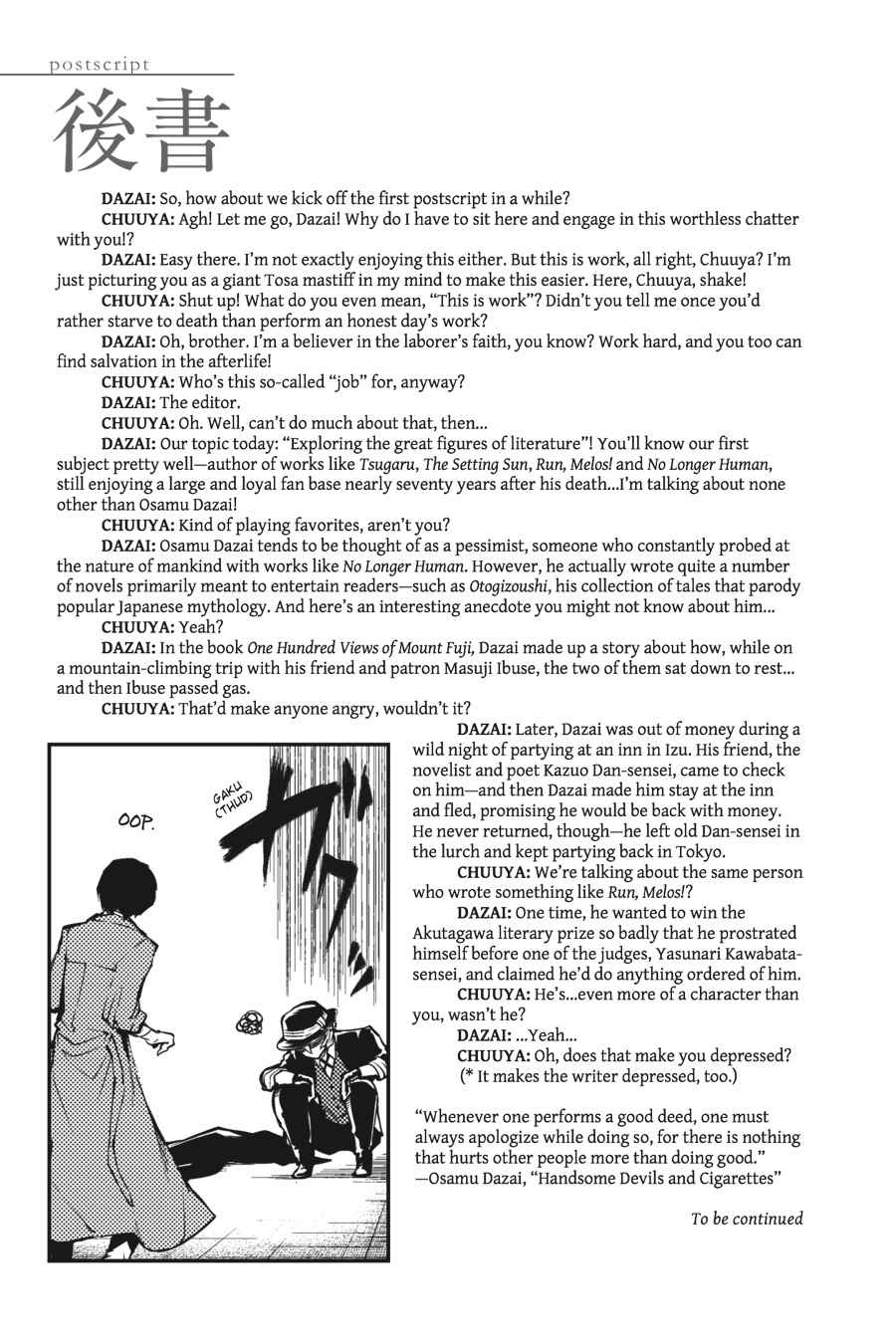 Bungou Stray Dogs Chapter 20 Page 44