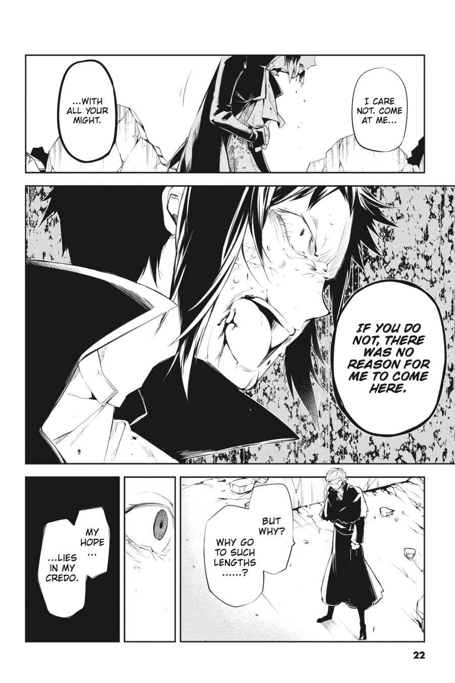 Bungou Stray Dogs Chapter 21 Page 22