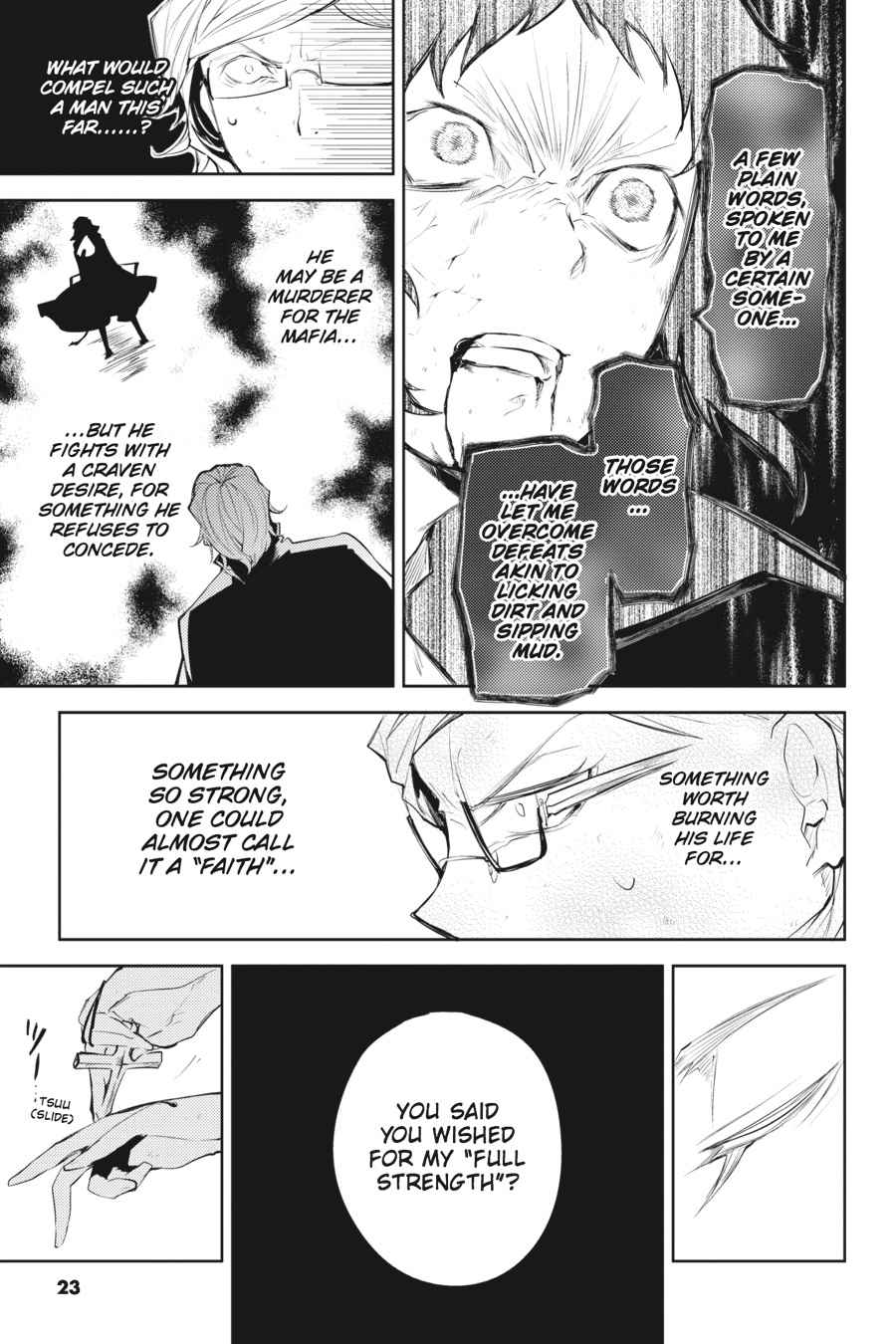 Bungou Stray Dogs Chapter 21 Page 23