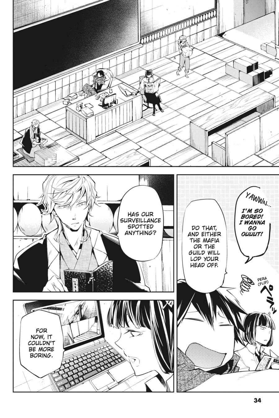 Bungou Stray Dogs Chapter 21 Page 33