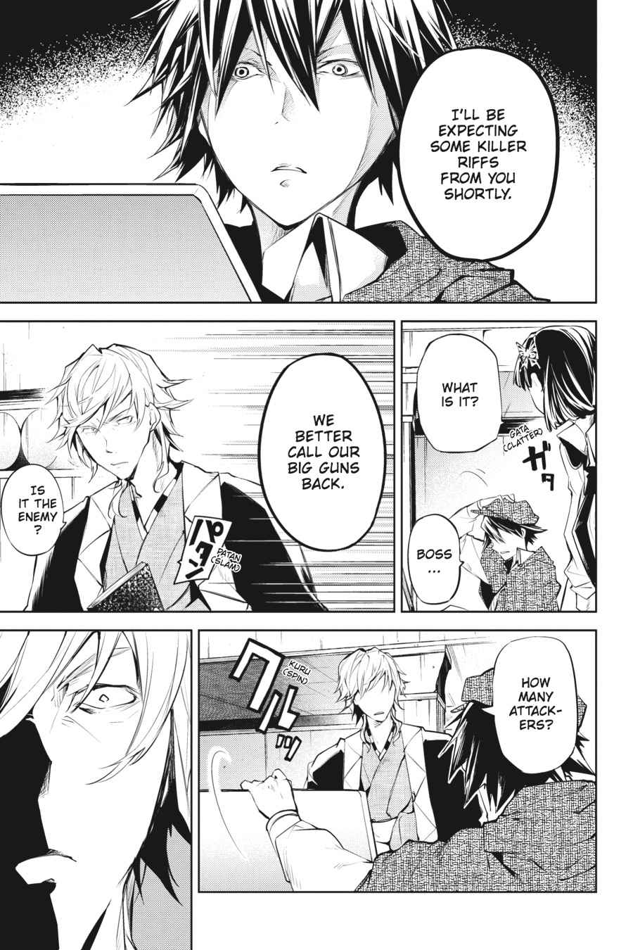 Bungou Stray Dogs Chapter 21 Page 36