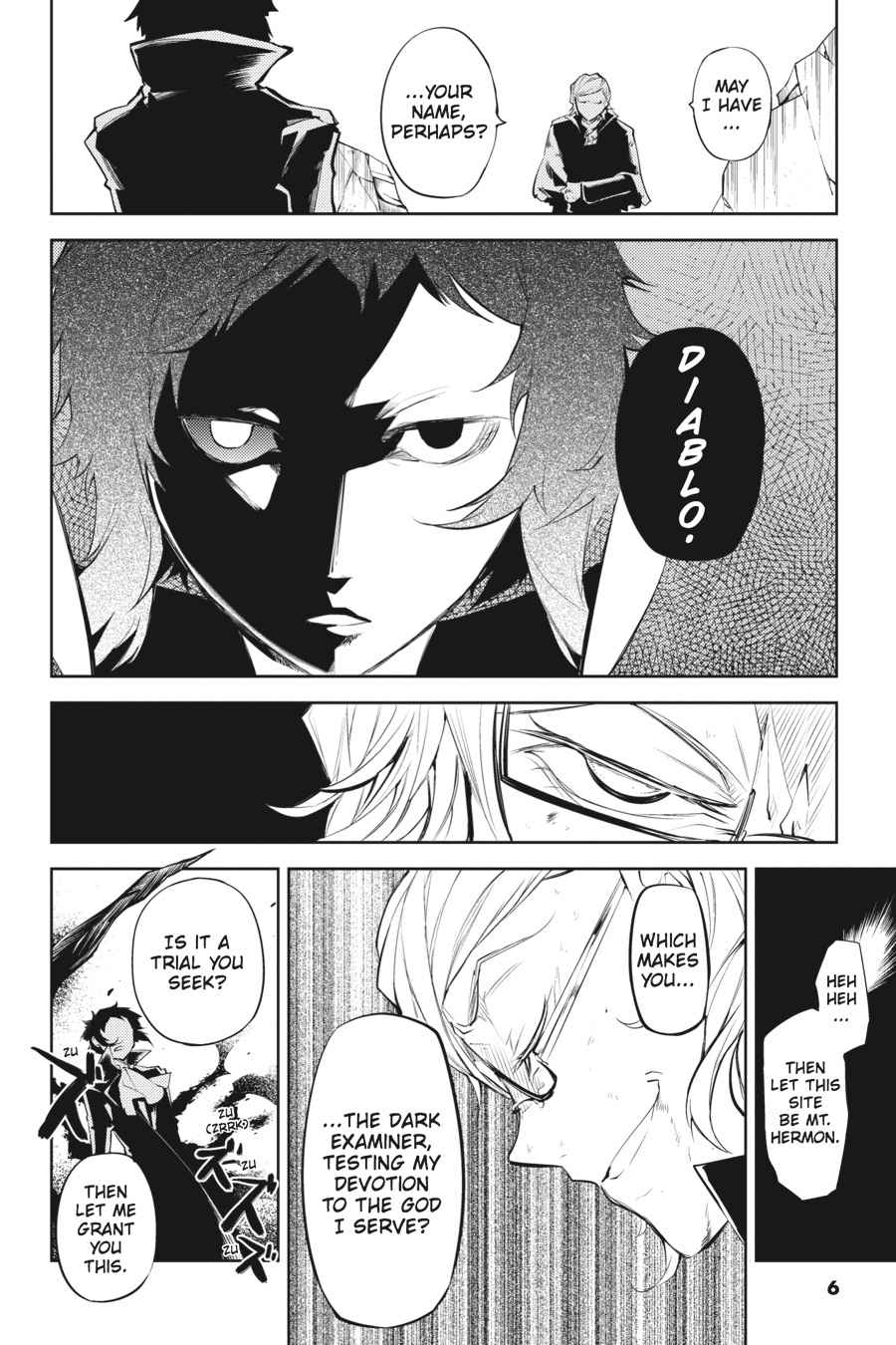 Bungou Stray Dogs Chapter 21 Page 6