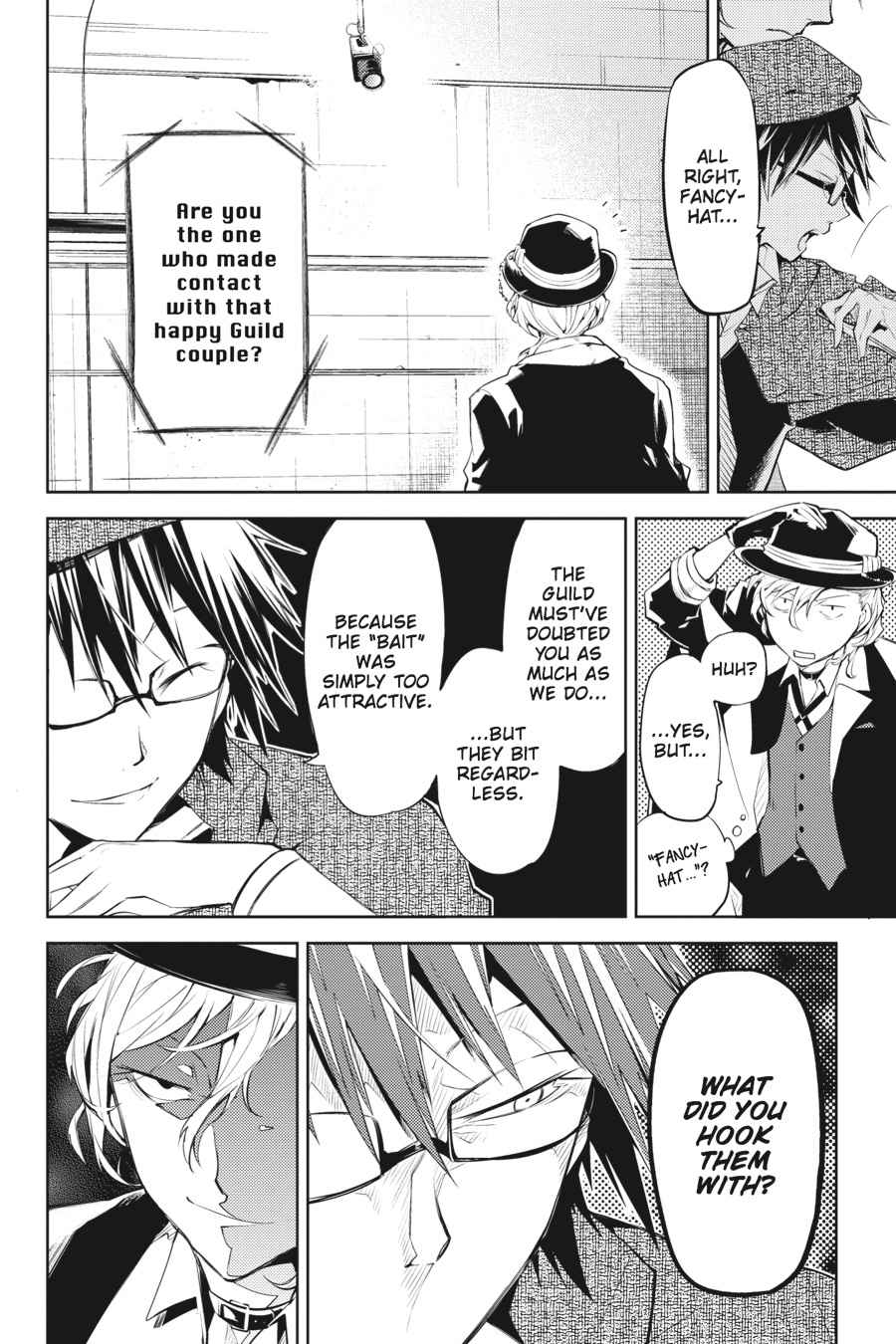 Bungou Stray Dogs Chapter 22 Page 25