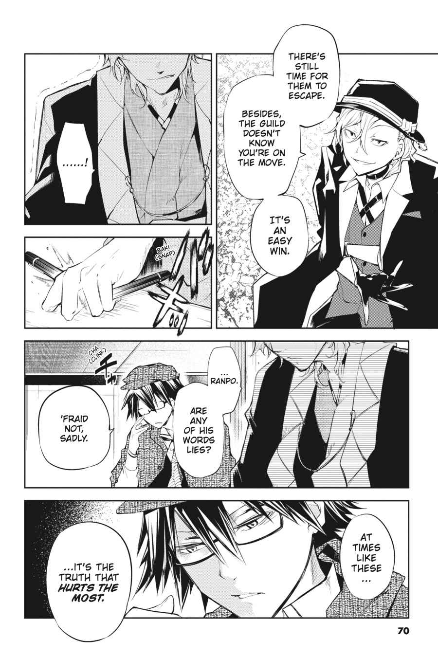 Bungou Stray Dogs Chapter 22 Page 29