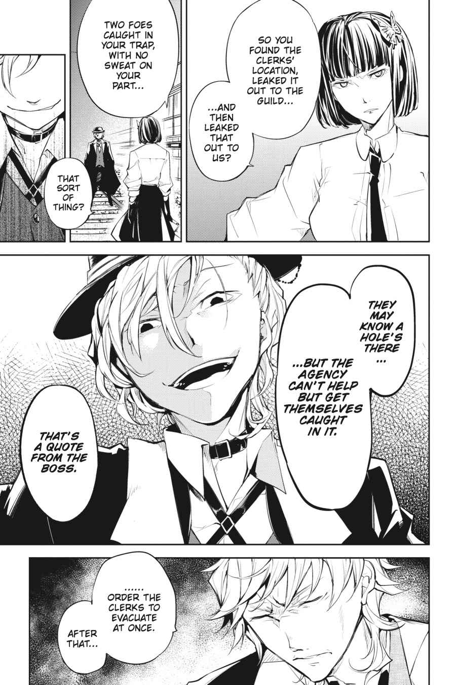 Bungou Stray Dogs Chapter 22 Page 30