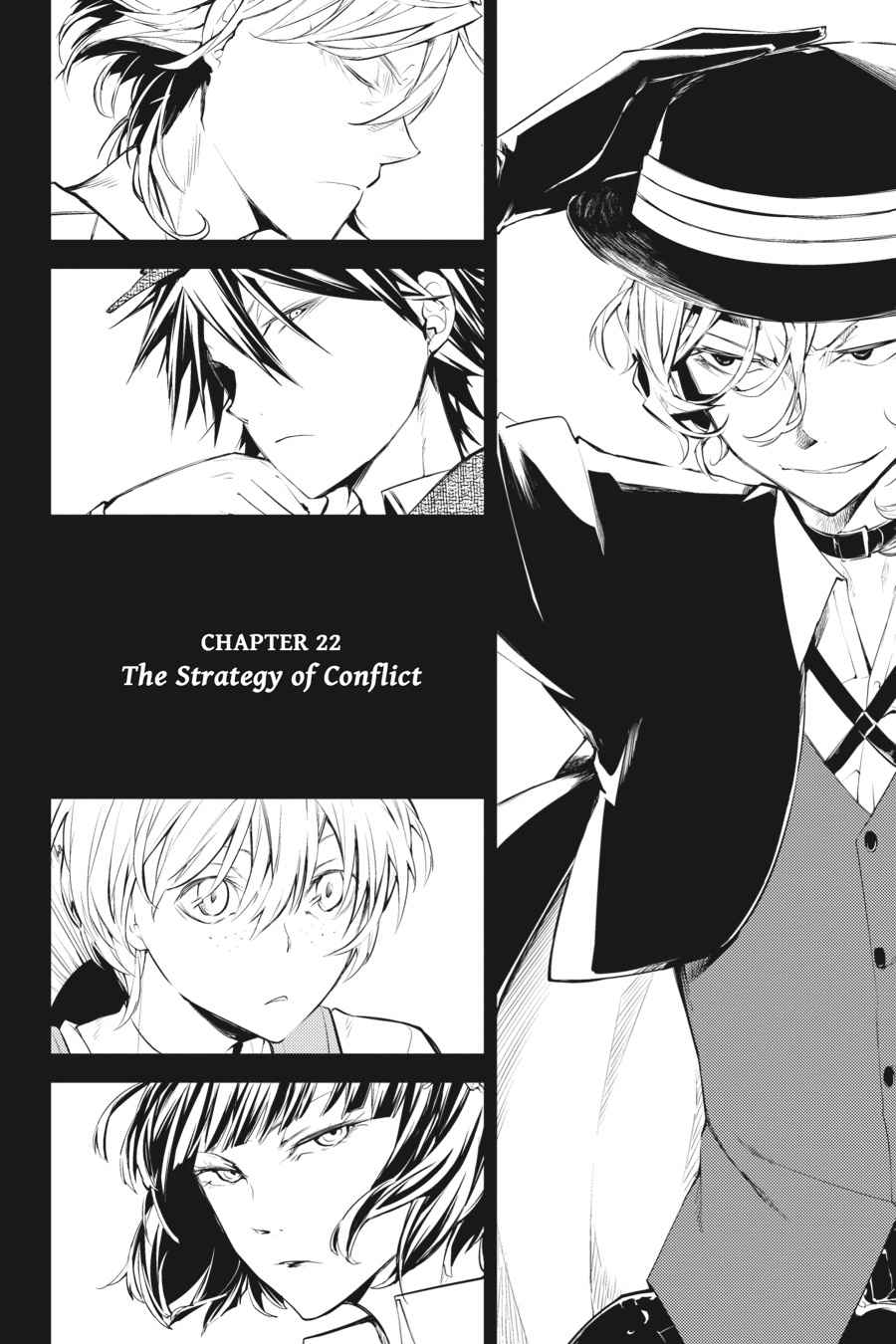 Bungou Stray Dogs Chapter 22 Page 4