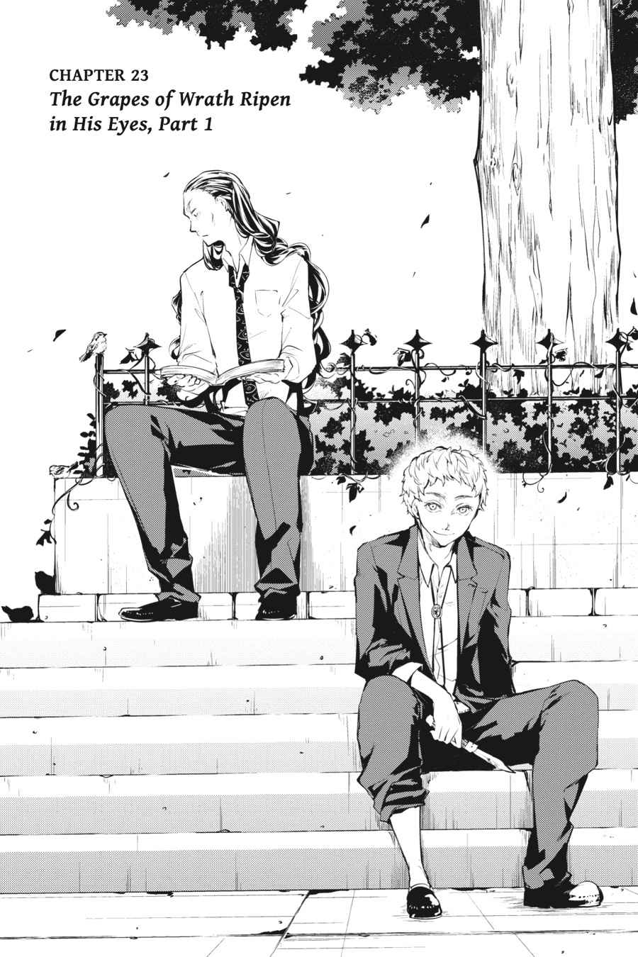 Bungou Stray Dogs Chapter 23 Page 1