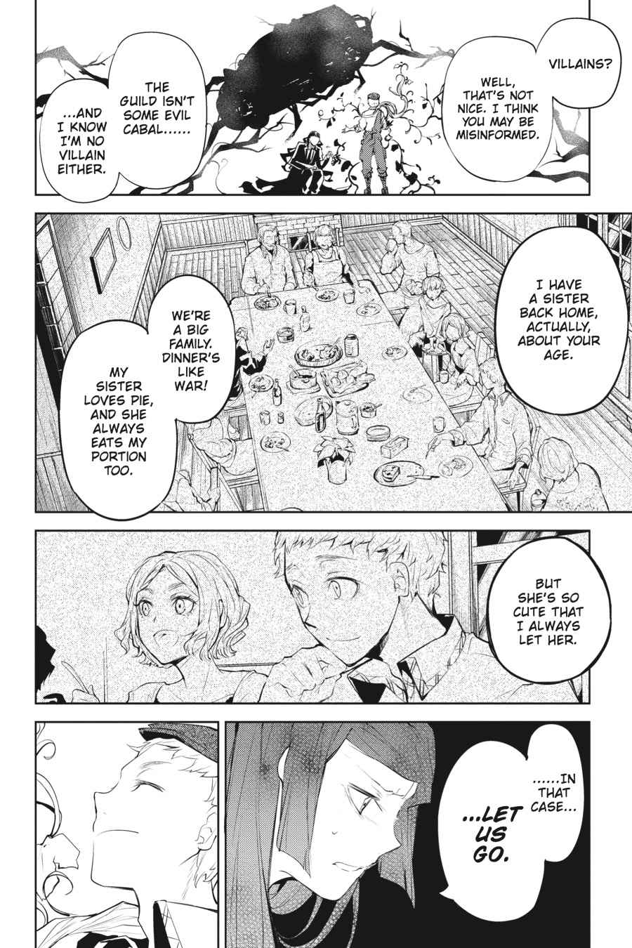Bungou Stray Dogs Chapter 23 Page 21