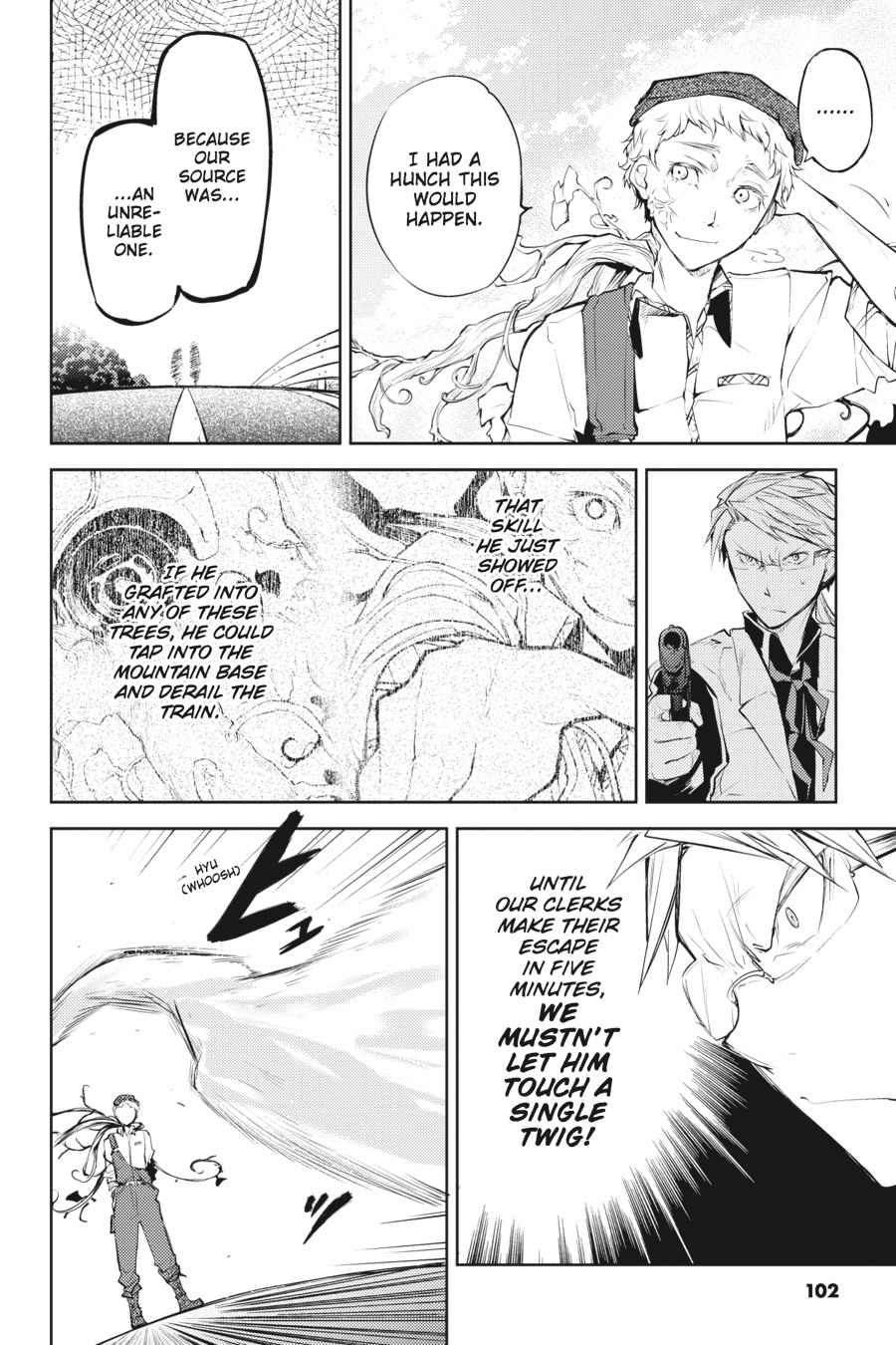 Bungou Stray Dogs Chapter 23 Page 27