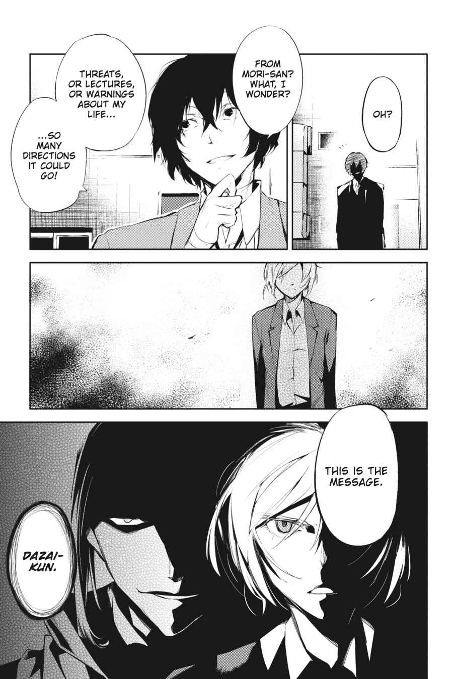 Bungou Stray Dogs Chapter 24 Page 38