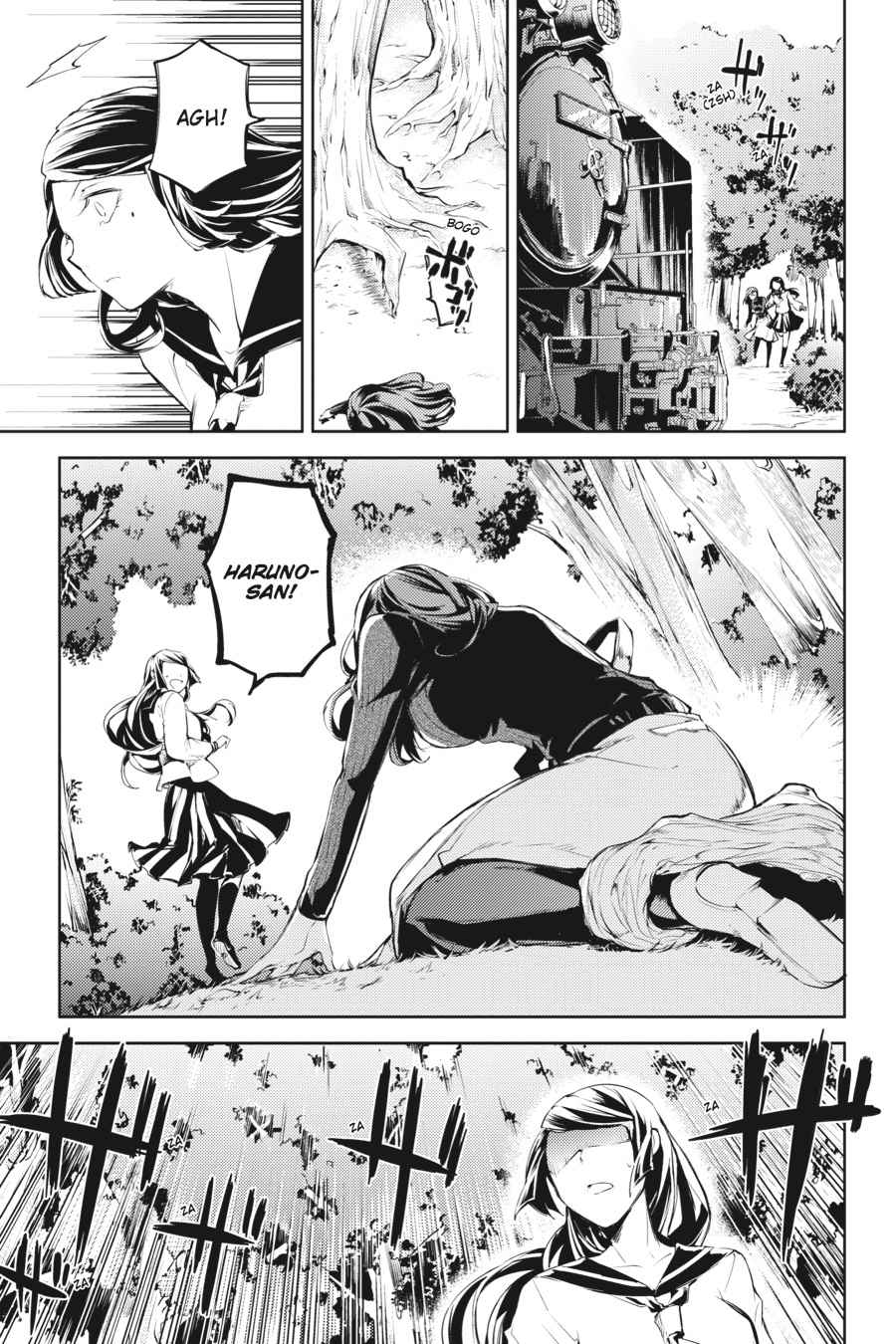 Bungou Stray Dogs Chapter 24 Page 5