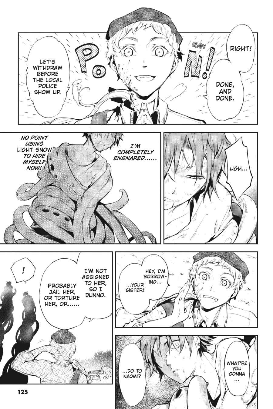 Bungou Stray Dogs Chapter 24 Page 7