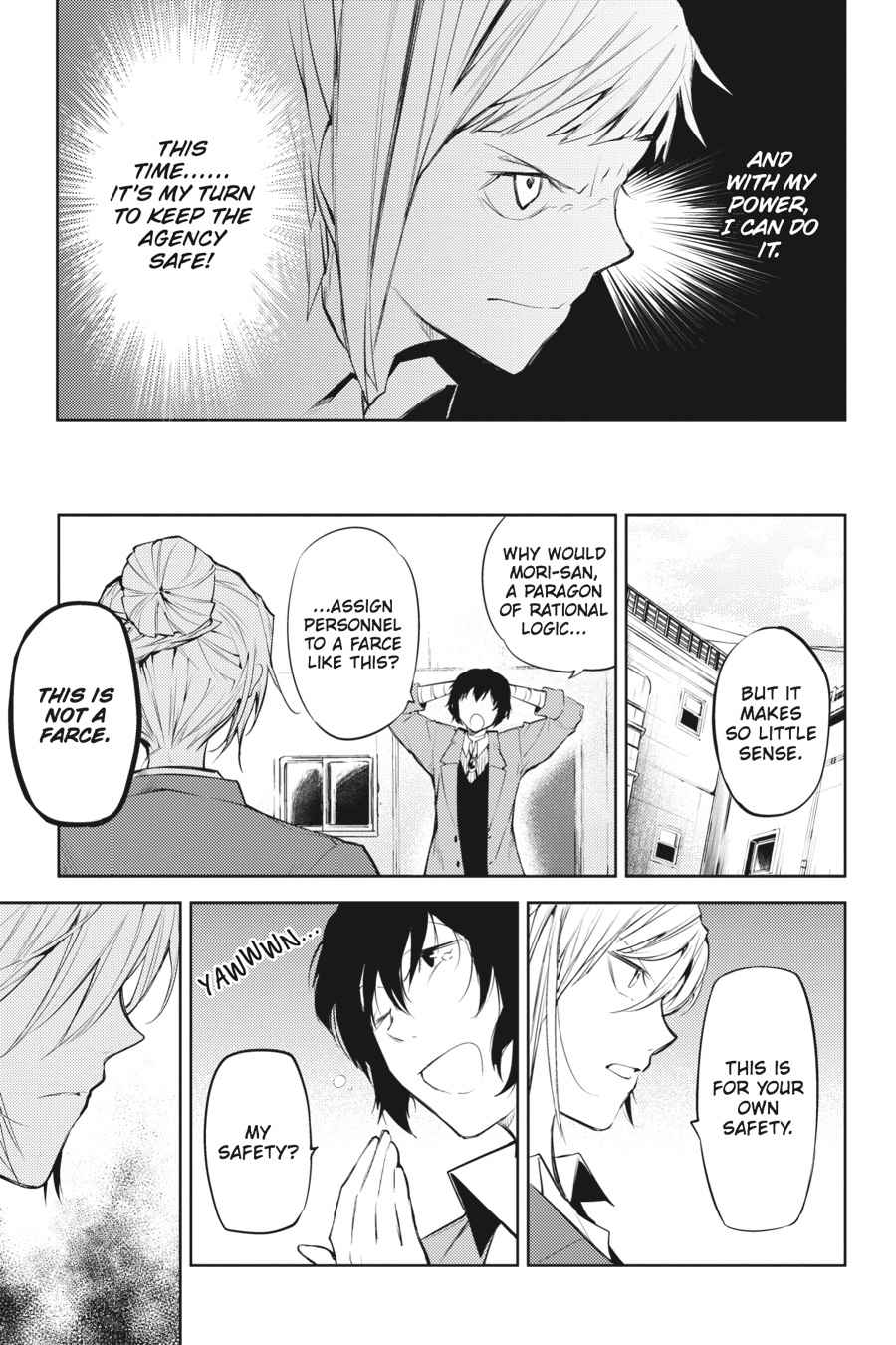 Bungou Stray Dogs Chapter 25 Page 10