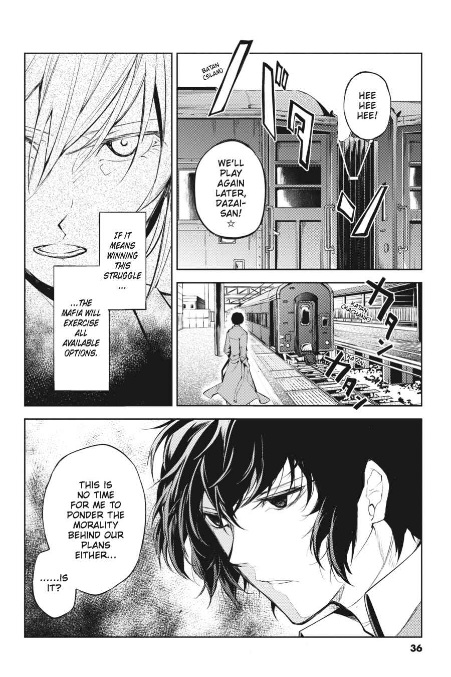 Bungou Stray Dogs Chapter 25 Page 36