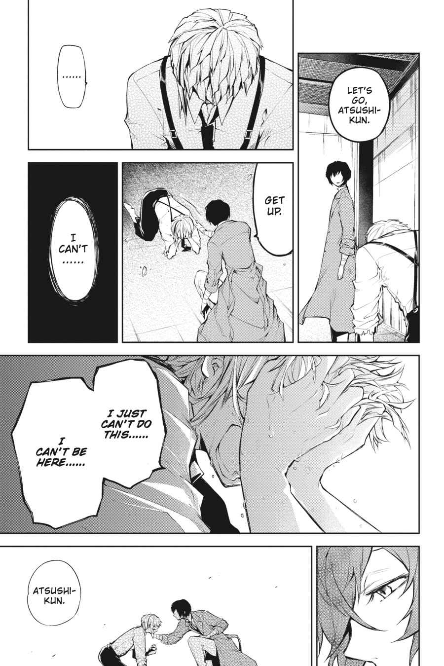 Bungou Stray Dogs Chapter 25 Page 37