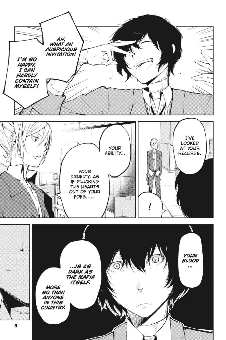 Bungou Stray Dogs Chapter 25 Page 6