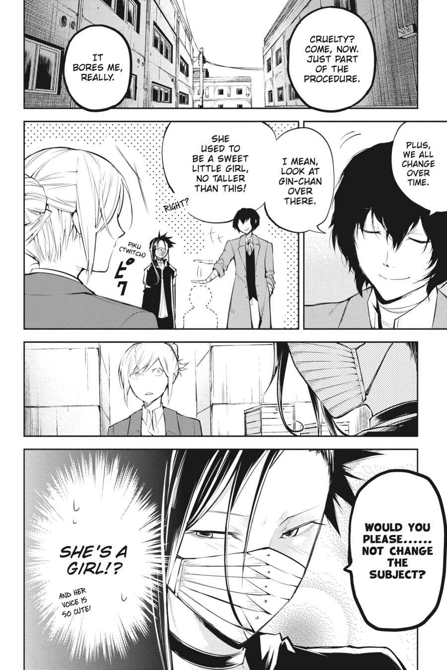 Bungou Stray Dogs Chapter 25 Page 7