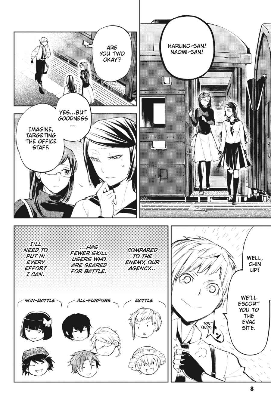 Bungou Stray Dogs Chapter 25 Page 9