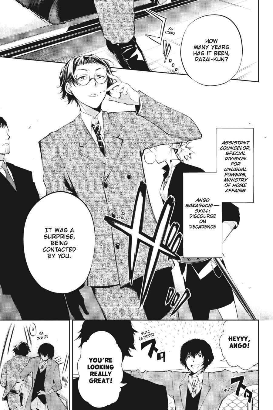 Bungou Stray Dogs Chapter 26 Page 11