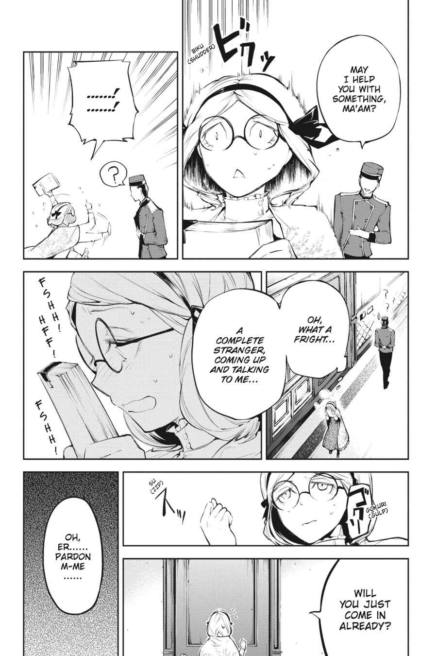 Bungou Stray Dogs Chapter 26 Page 2