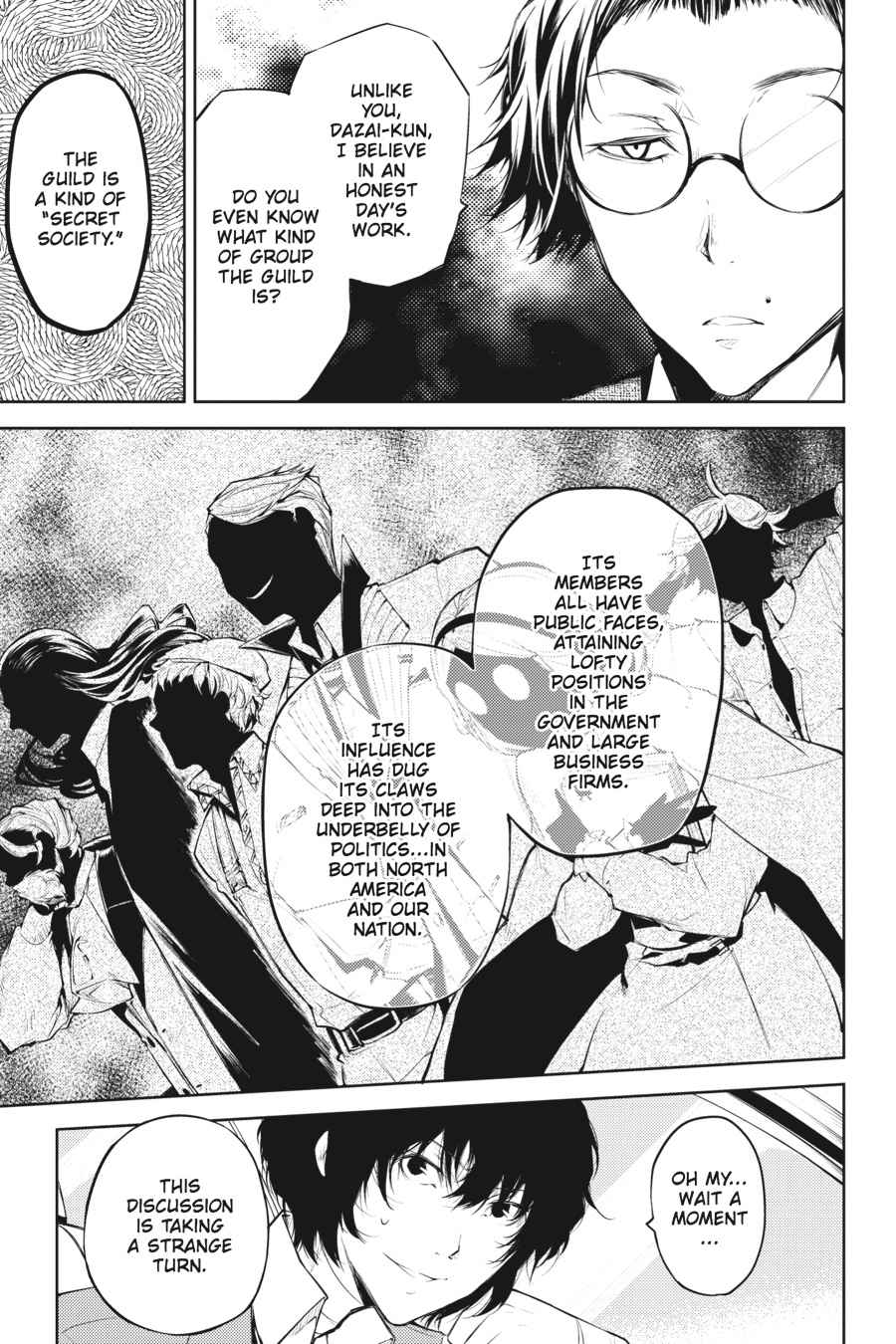 Bungou Stray Dogs Chapter 26 Page 20
