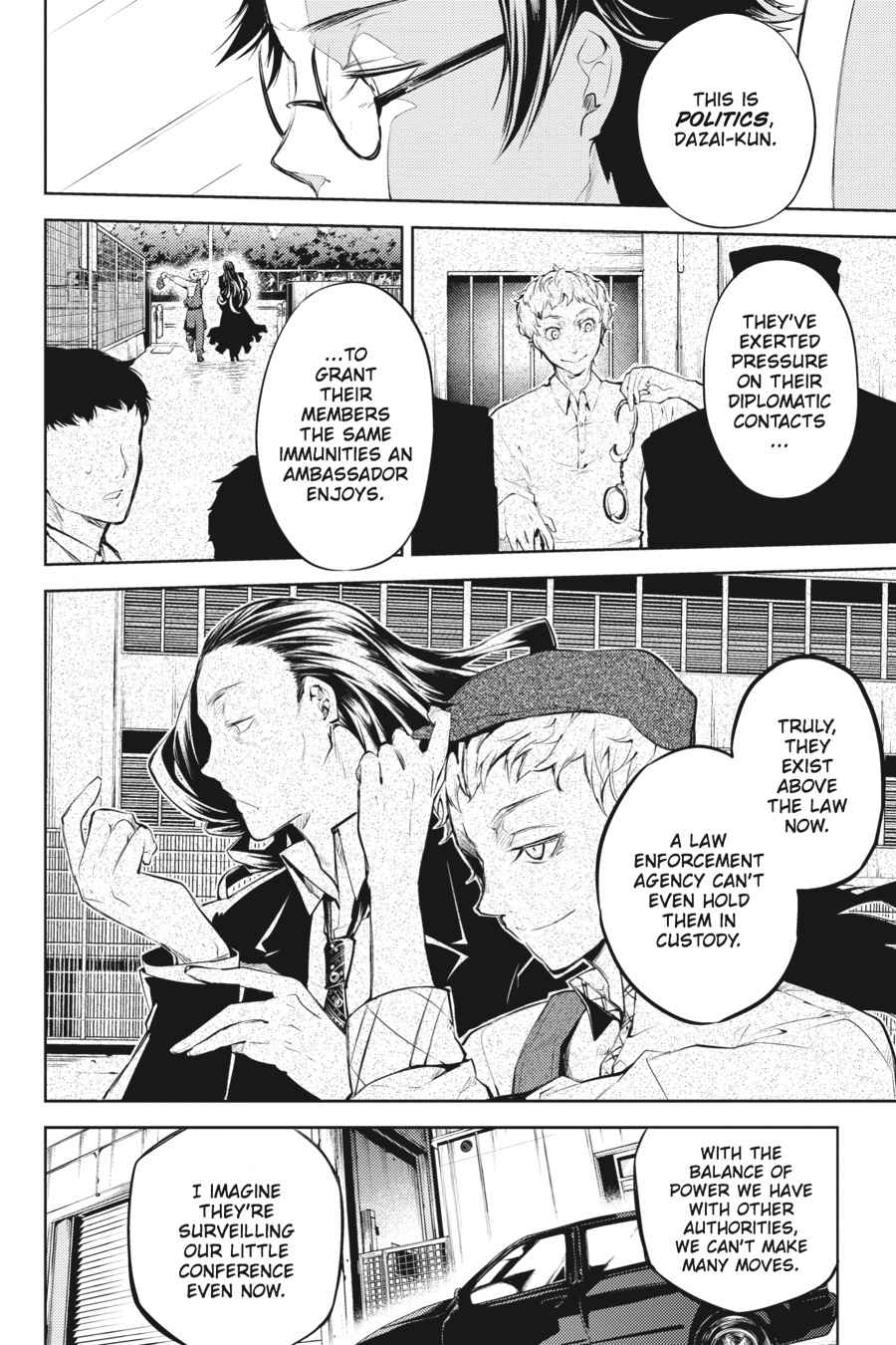 Bungou Stray Dogs Chapter 26 Page 21