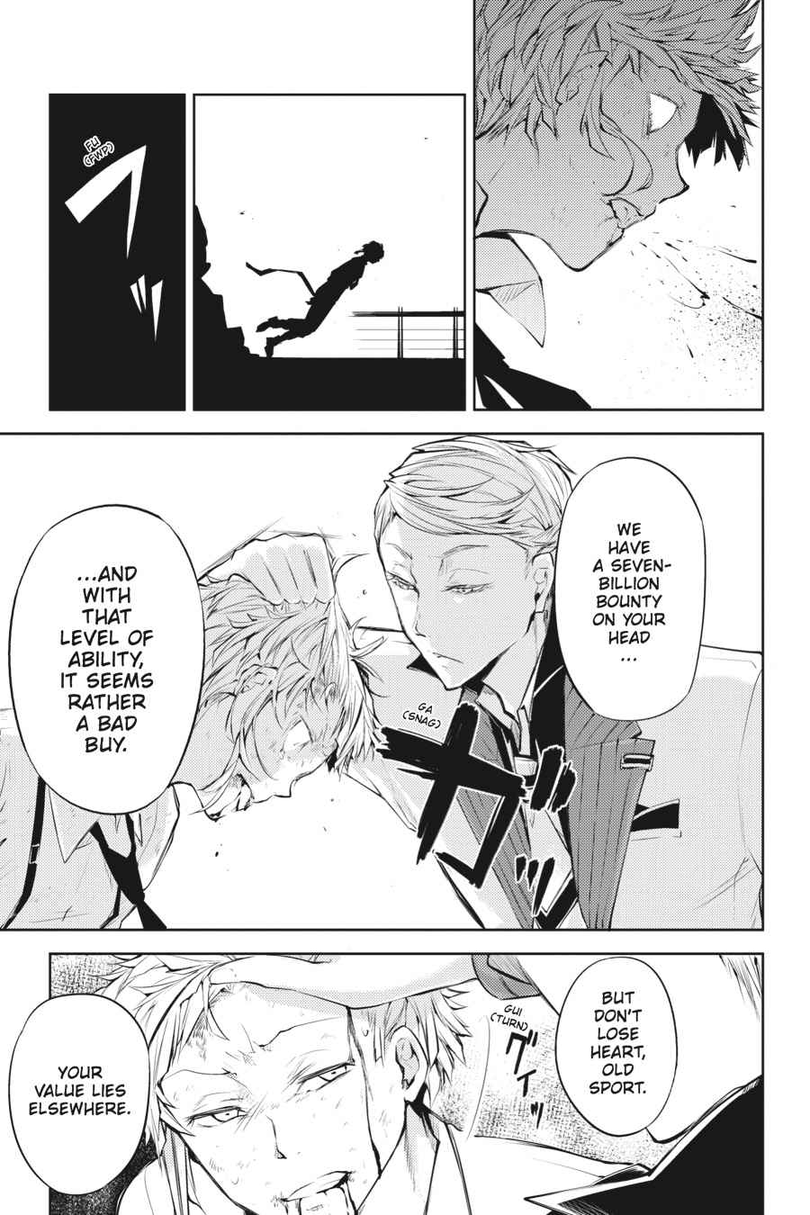 Bungou Stray Dogs Chapter 26 Page 30