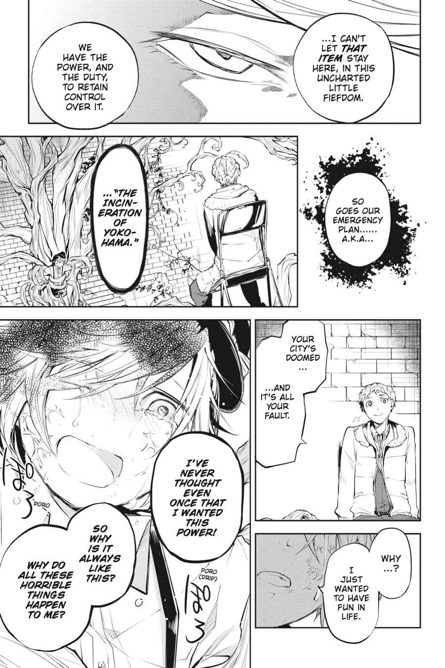 Bungou Stray Dogs Chapter 28 Page 11