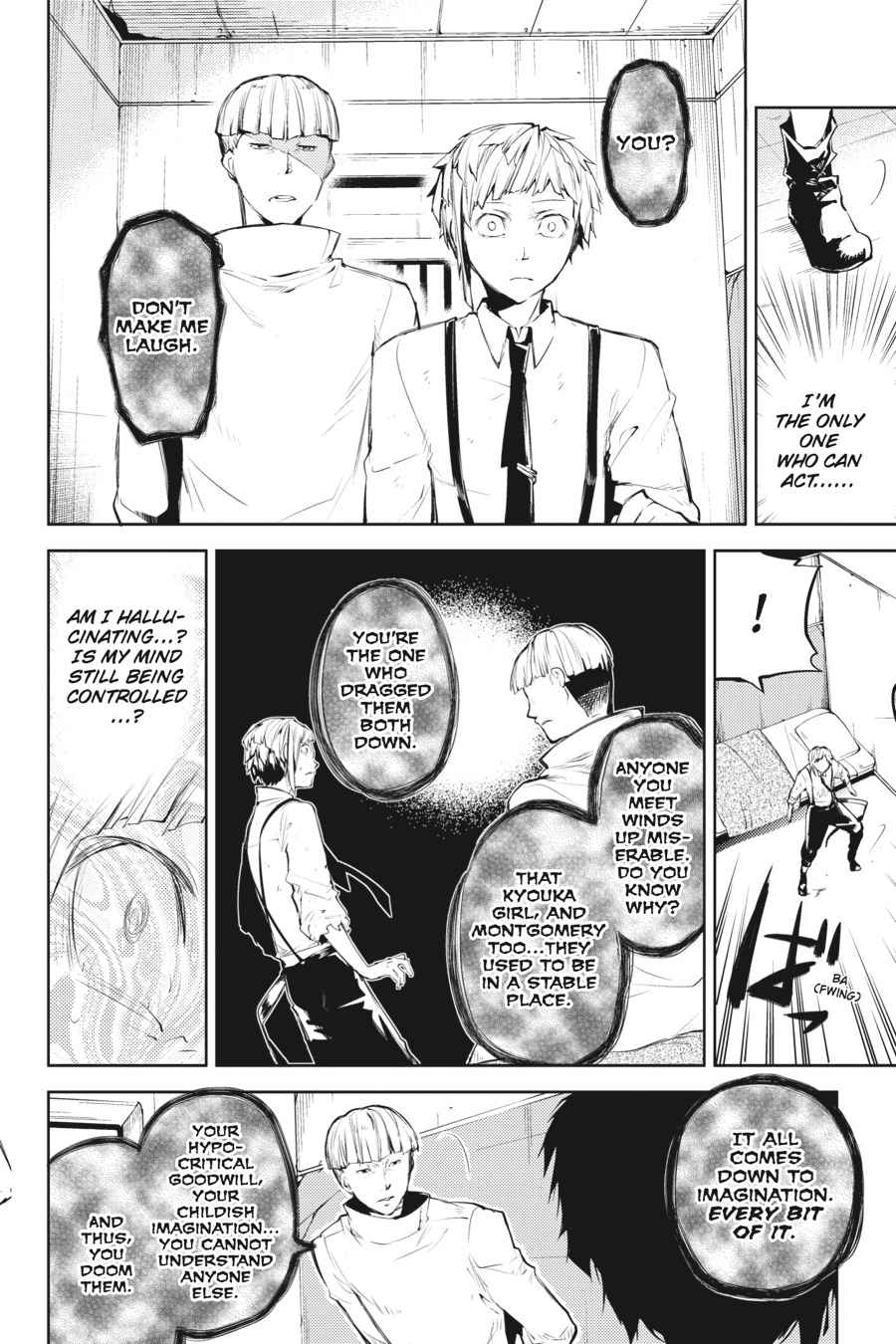 Bungou Stray Dogs Chapter 28 Page 22